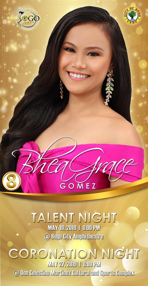 BHEA GRACE GOMEZ Candidate #8