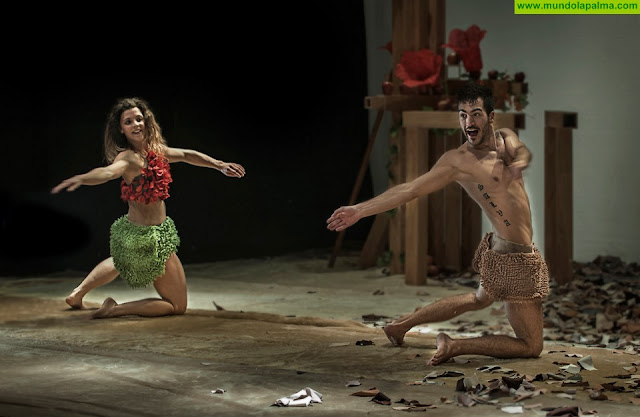 El programa Platea trae al Teatro Circo de Marte el espectáculo 'Eva y Adán', una propuesta de danza para toda la familia
