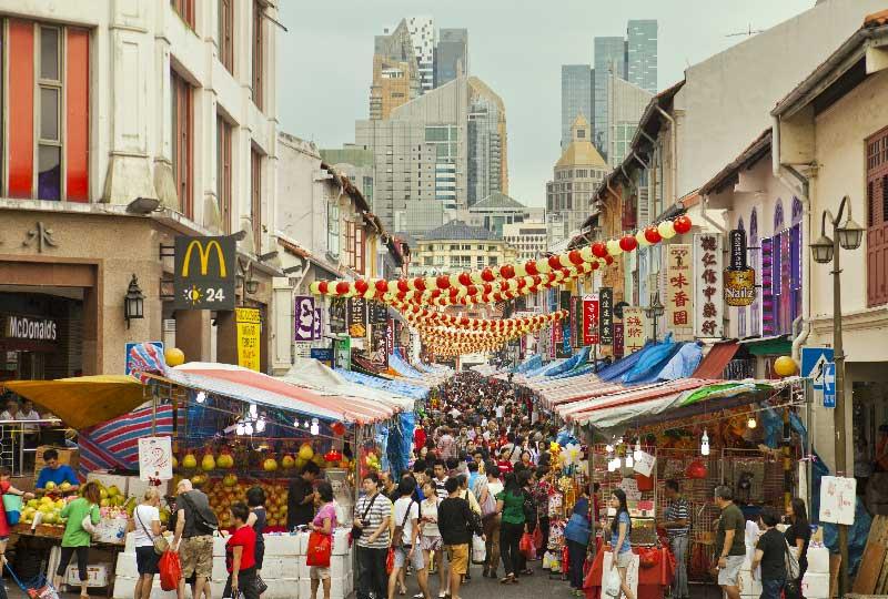 quartiere Chinatown Singapore