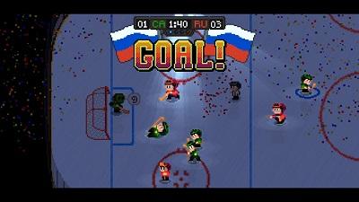Super Blood Hockey Gameplay