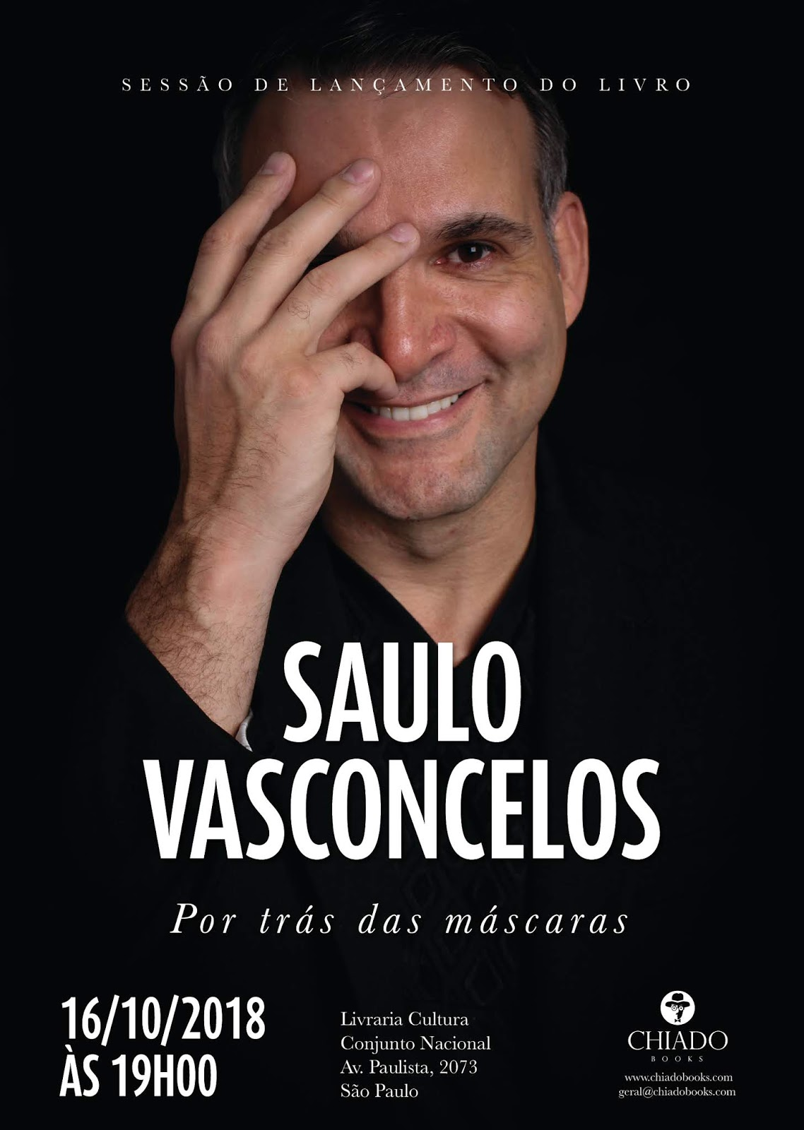 Saulo Vasconcelos lança biografia