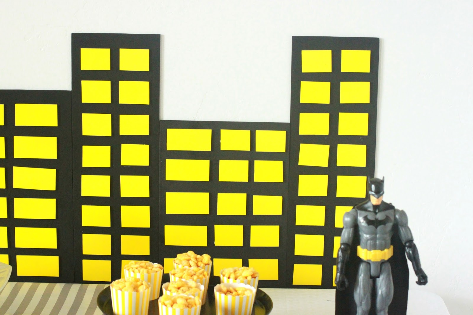 Gmail batman theme - One Of My Party Decorating Tricks Is To Pick A Color Theme That Coordinates With The Party Theme And Then To Go Crazy With It I Incorporate The Colors In