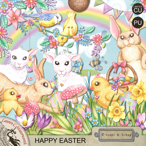 Lauren C. Waterworth Easter Printable FREEBie