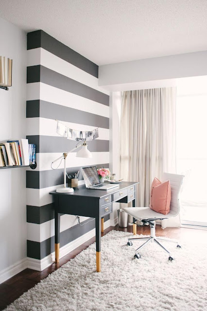 decoration- geometric- wall- painting