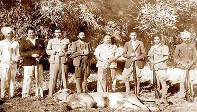Group photograph of a Hunt