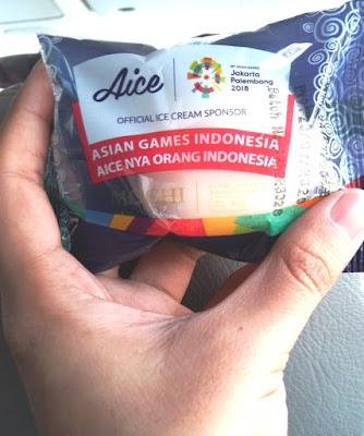 es krim Aice menjadi official ice cream sponsor