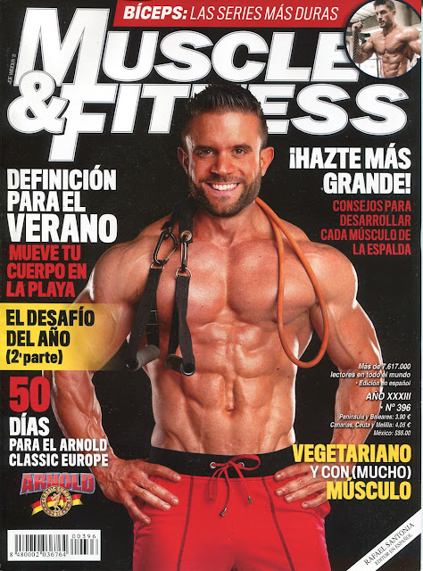 Muscle & Fitness - 396 - Agosto 2016 - Marco Laterza