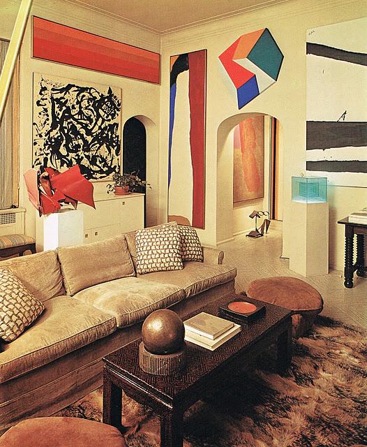 10 Blogs Every Interior Design Fan Should Follow: HEAD OVER HEELS: Billy Baldwin, Circa 1975