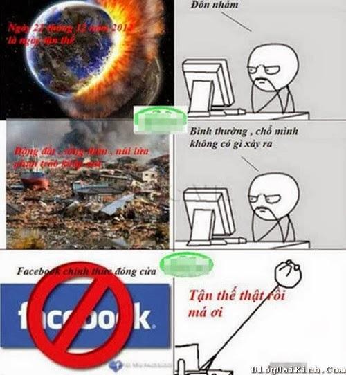 Tận thế của Facebook