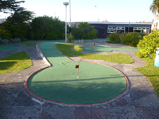Gilmores Golf minigolf course in Newquay, Cornwall