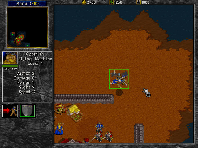Warcraft 2 Gnomish Flying Machine Screenshot