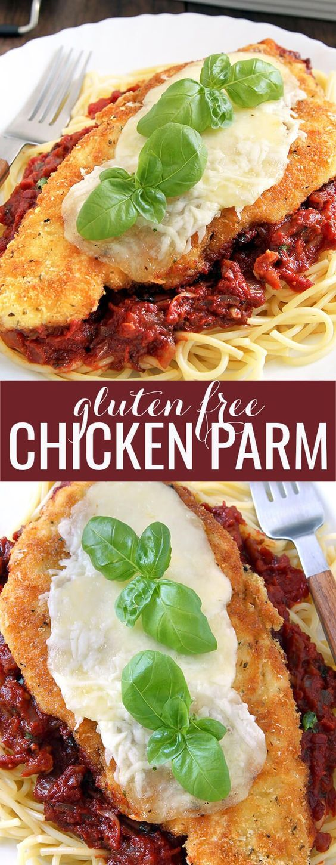 Gluten Free Chicken Parmesan