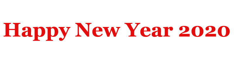 Happy New Year 2020 - Images GIF Wishes Quotes Messages Status
