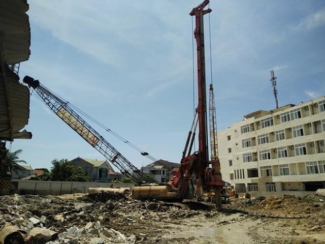 Hình ảnh chung cư ngang nhiên xây dựng trái phép