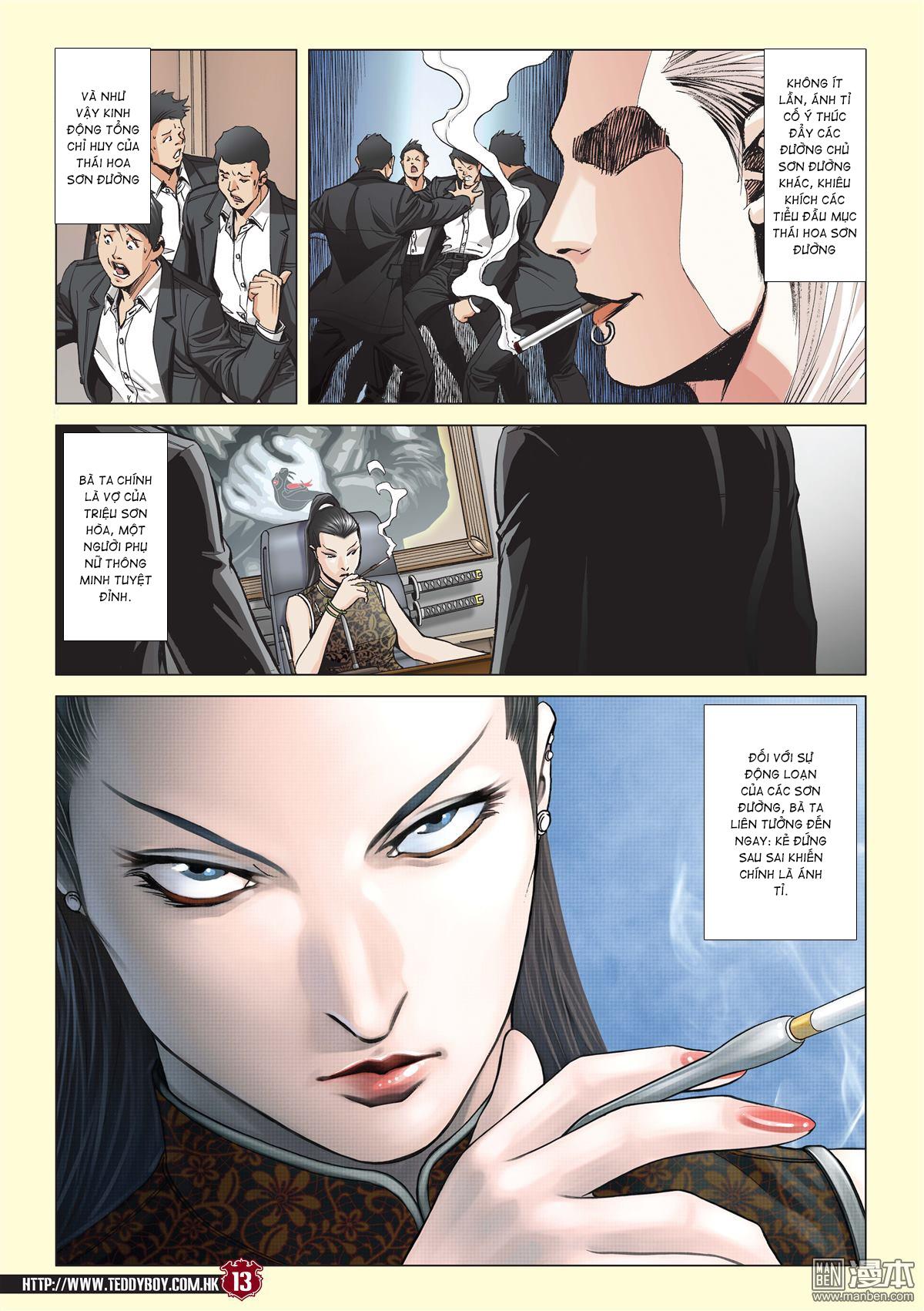 Người Trong Giang Hồ chapter 2059: gà rừng và đinh dao trang 10