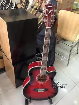 Bán đàn guitar acoustic yamaha đẹp giá 1 triệu 3