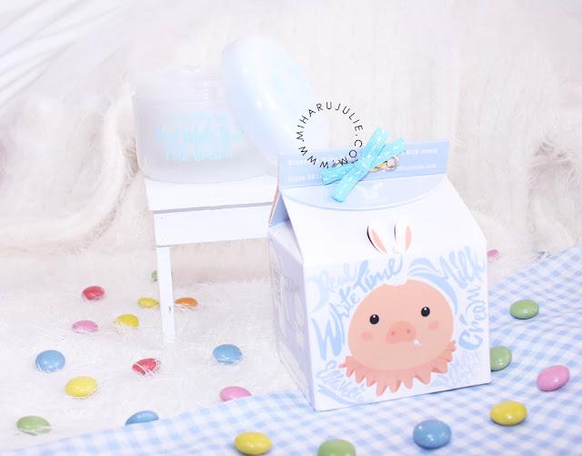 review Elizavecca Milky Piggy Real White Time Milk Cream