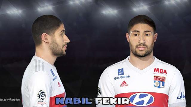 Nabil Fekir Face PES 2018