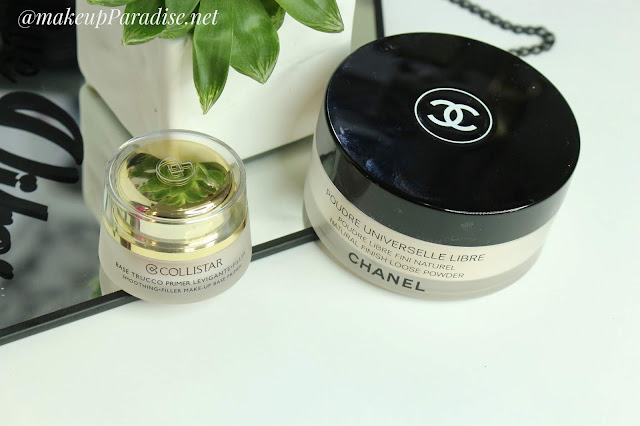 chanel poudre universelle libre Collistar makeup base pimer