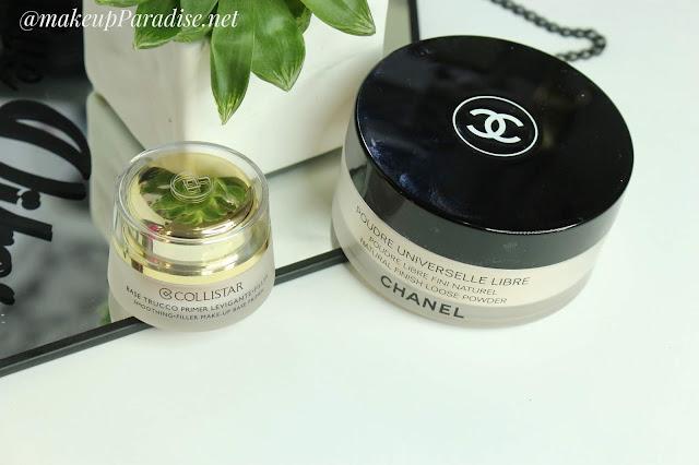 chanel poudre universelle libre Collistar makeup base pimer