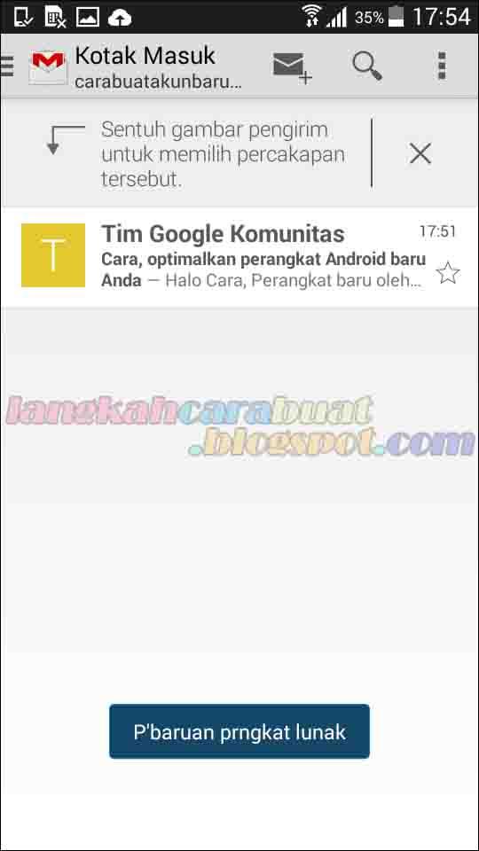 Cara Buat Email di Gmail Baru Lewat HP Android dan Iphone ...