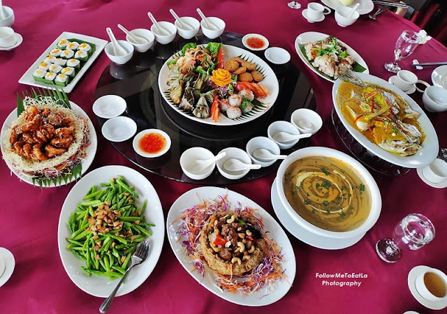AROI DEE PALM GARDEN HOTEL - CHINESE NEW YEAR 2020 Happiness Thai Set Menu