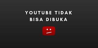 youtube tidak bisa dibuka