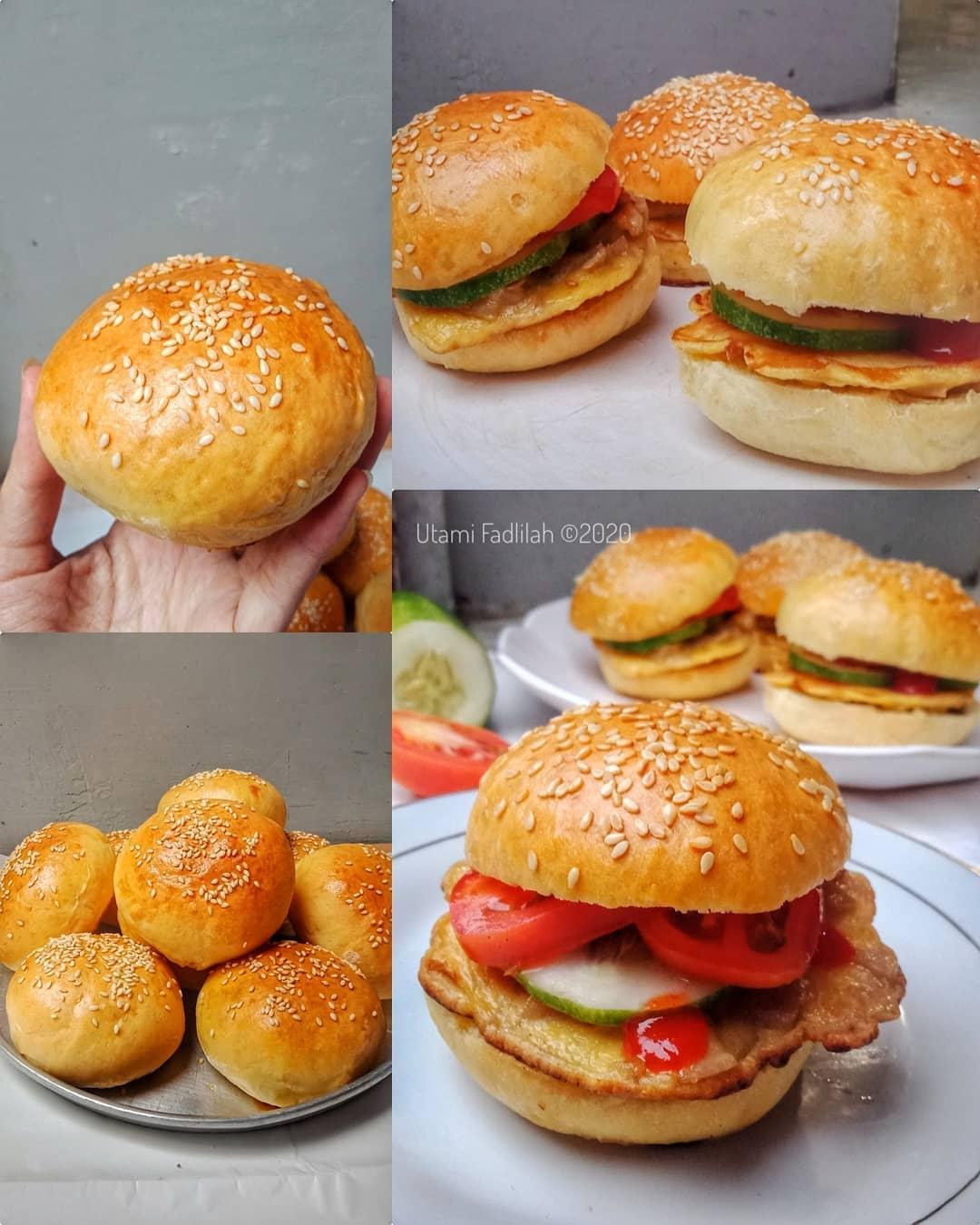 Cara Membuat Roti Burger : membuat, burger, Membuat, Burger, Sempurna,, Empuk, Lembut, Modern.id