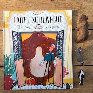 Hotel Schlafgut Bilderbuch 360Grad Verlag Rezension Tierhotel Winterschlaf
