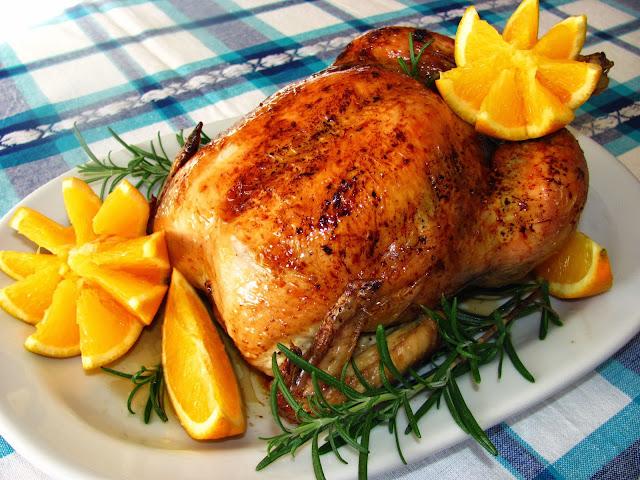 Курица фаршированная овощами в духовке целиком рецепт