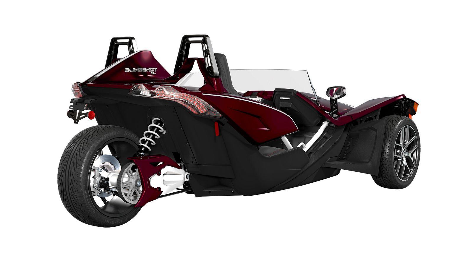 6 Wheel G Wagon >> Polaris Slingshot Gets Special Midnight Cherry Variant