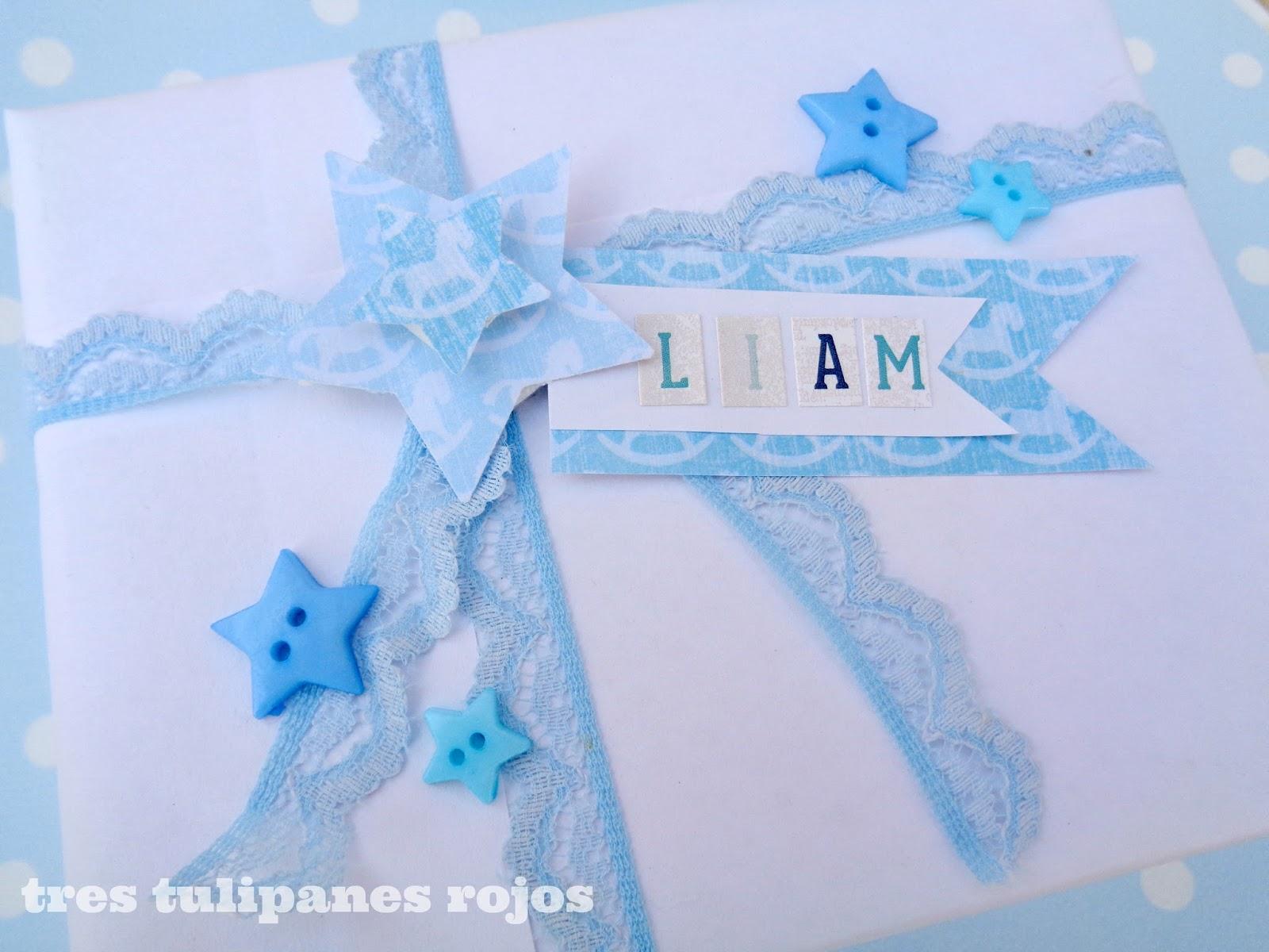 Para Liam: en blanco y celeste