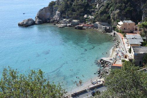 Baia dei Saraceni: spiaggia di Malpasso.