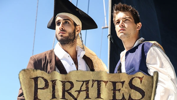 Pirates Of The Caribbean Part 1 : A Gay XXX Parody – Diego Sans, Johnny Rapid