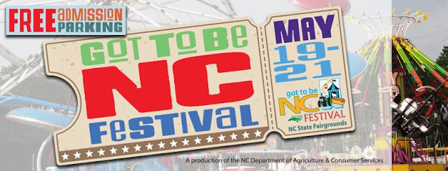 Got to Be NC Festival in May 2017 Logo