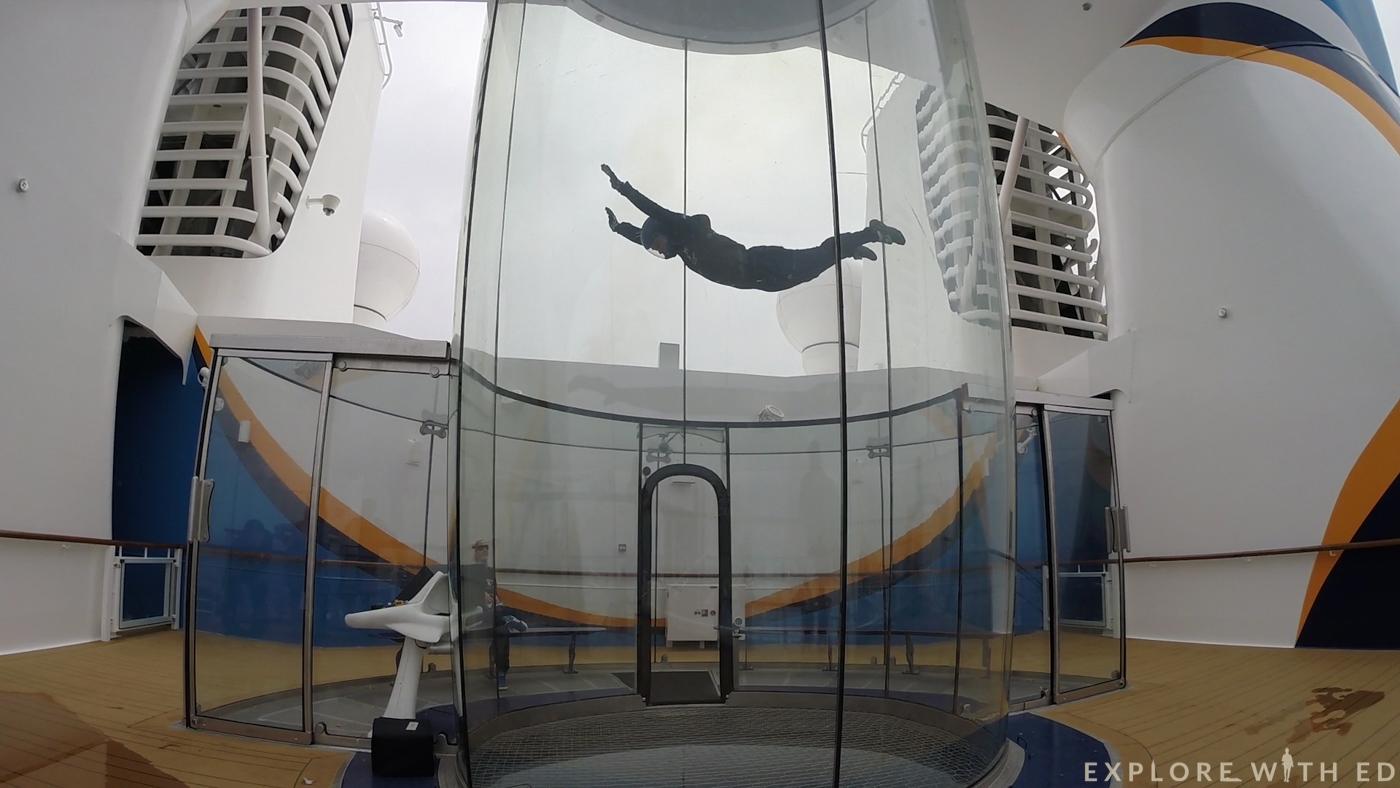 Ripcord by iFly, Royal Caribbean simulator, skydiving