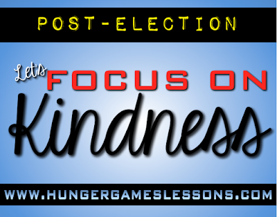 Focus on Kindness: Dealing with the aftermath of the election