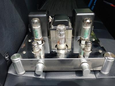 Single End EL34 Vacuum Tube Amplifier (Used) 20190523_133609