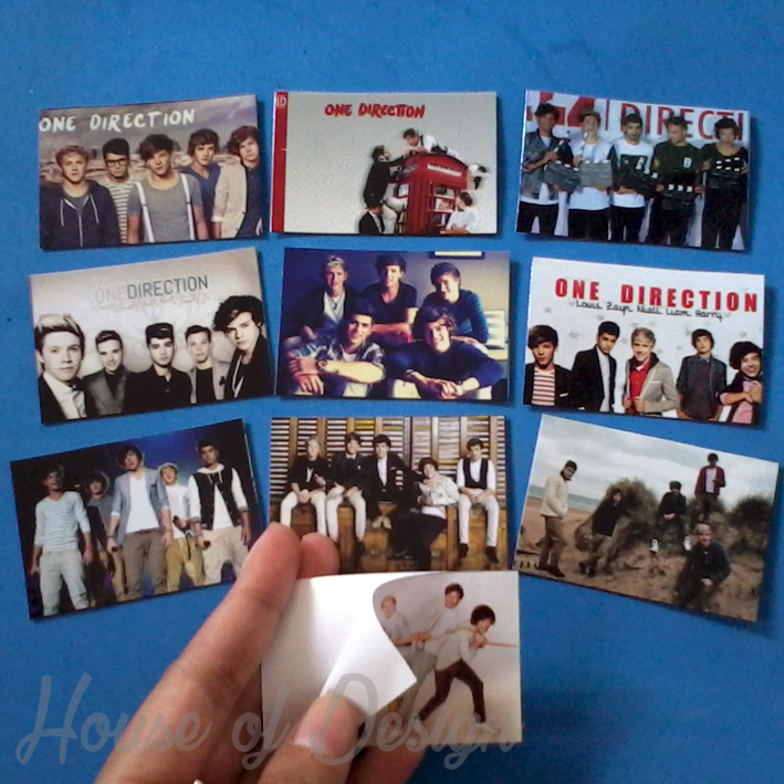 STICKER CUSTOM, STICKER ONE DIRECTION