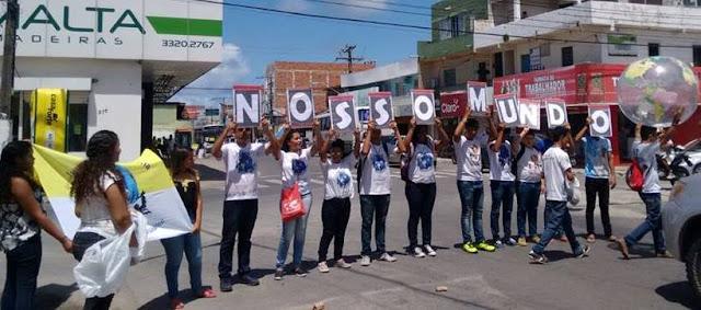 JM da Arquidiocese de Maceió realizou Blitz Missionária