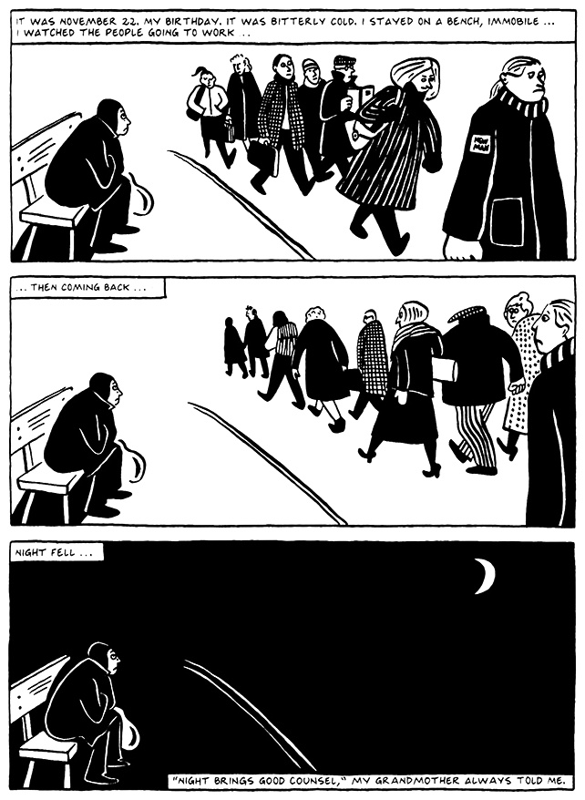 Read Chapter 9 - The Veil, page 81, from Marjane Satrapi's Persepolis 2 - The Story of a Return