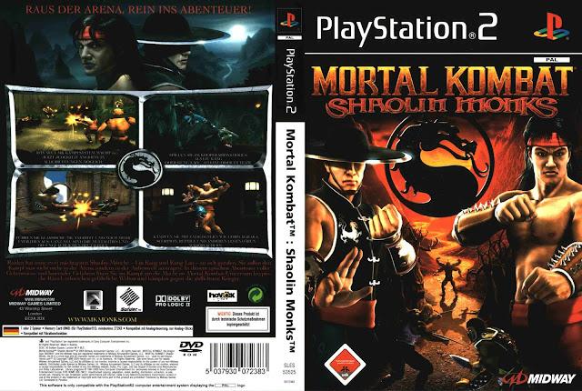 MONKS JOGO SHAOLIN PS2 DE BAIXAR MORTAL KOMBAT
