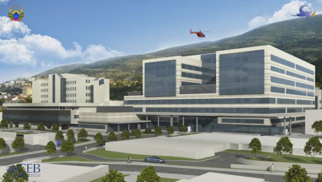 Macedonia to start building new hospital in Skopje in June