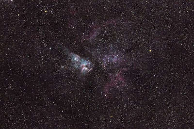 Nebulosa de ETA Carinae (Nebulosa del Homúnculo)