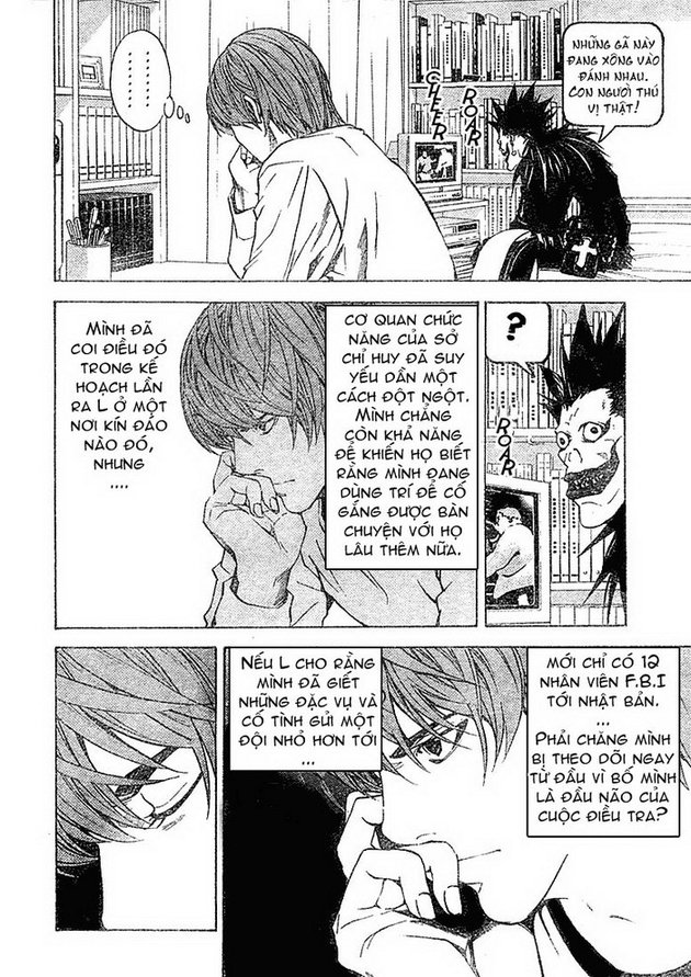 Death Note chapter 010 trang 21