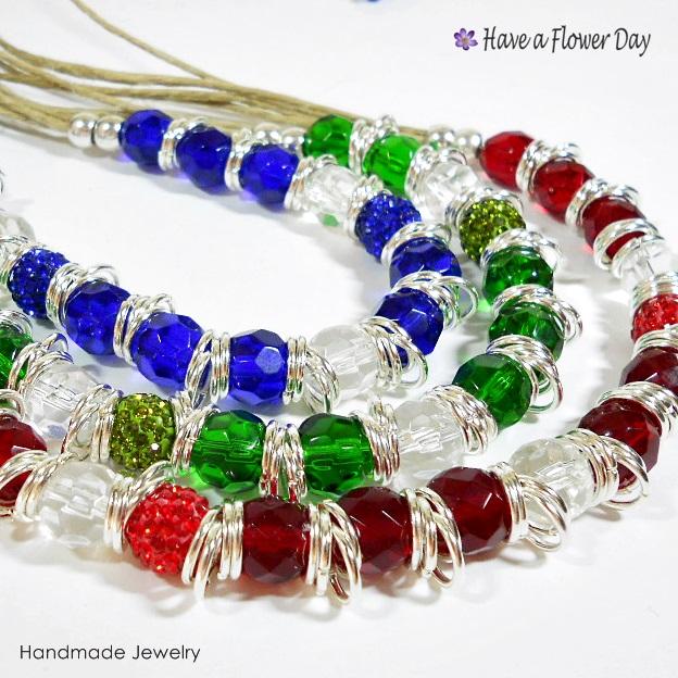 LUAM. Collar con cristal · Crystal necklace