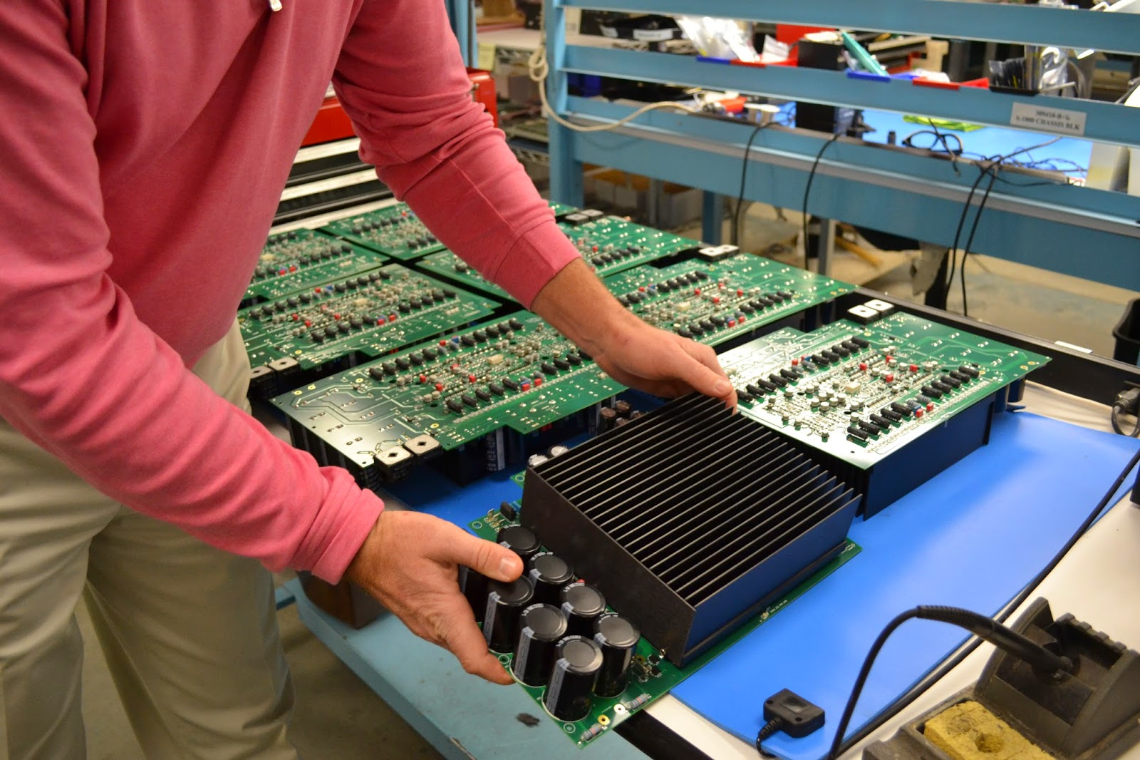 Krell Factory Tour: A Behind the Scenes Look at What Makes