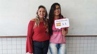 Estudante de Baraúna é selecionada no 'Gira Mundo' e fará intercâmbio na Espanha