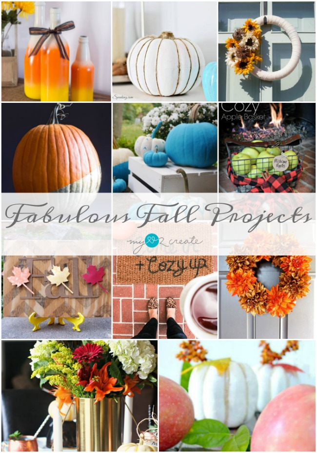Easy to DIY Fabulous Fall Projects at MyLove2Create