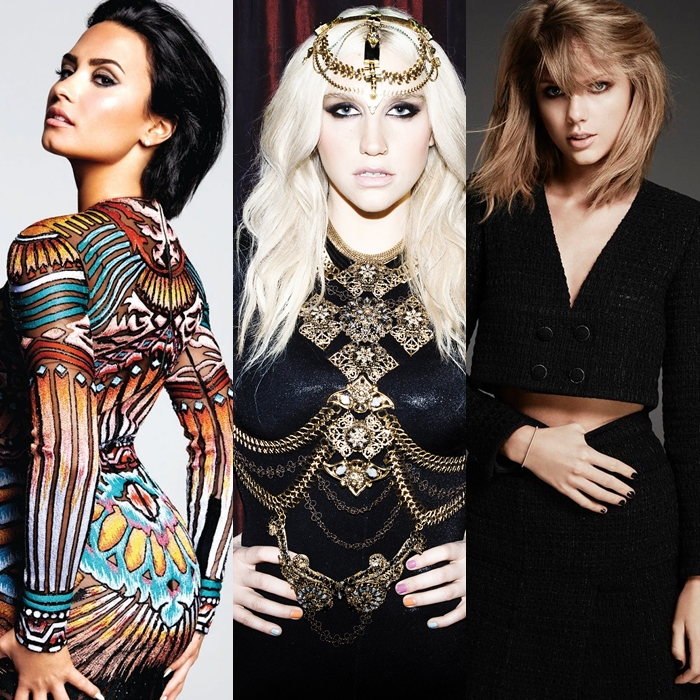 A Demi Lovato no le gustó la donación que Taylor Swift le hizo a Kesha